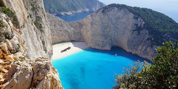 Navagio beach op Zakynthos weer toegankelijk
