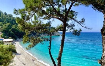 7 mooiste stranden van Samos lemonakia beach