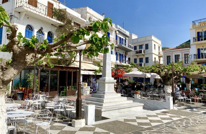 Agios Kyrikos op Ikaria