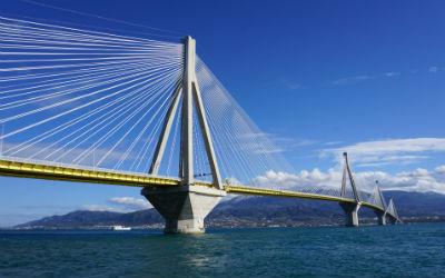 Centraal Griekenland Rio Antirio brug