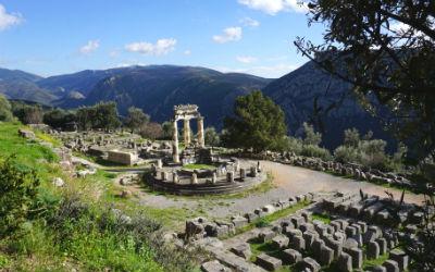 Centraal Griekenland Delphi