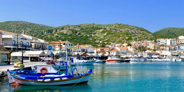 Vakantie in mei op Samos
