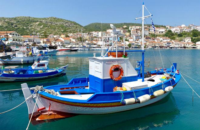 In mei op vakantie naar Samos