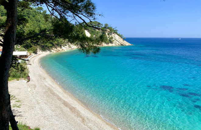 Lemonakia beach op Samos
