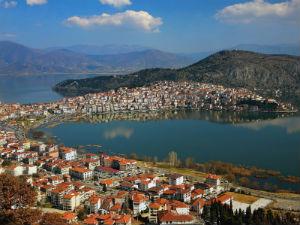 Macedonie de stad Kastoria