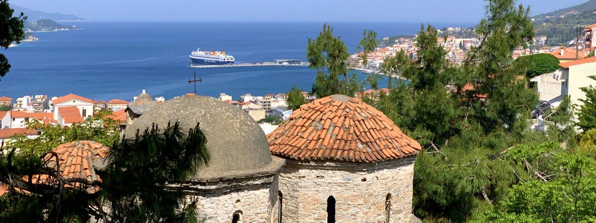 Samos stad vakantie naar Vathy