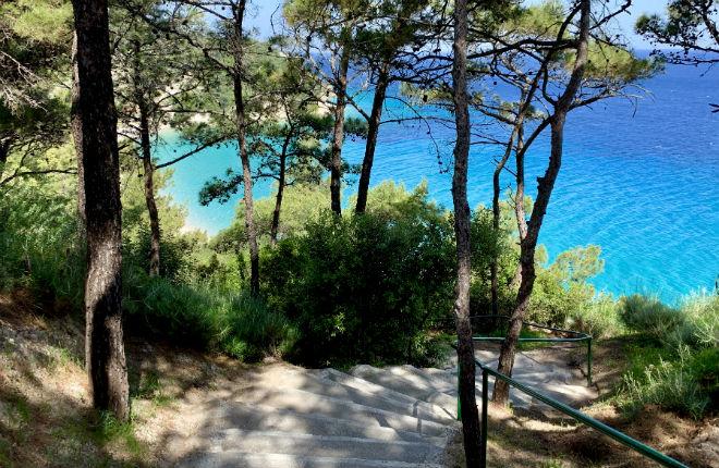 Tsamadou beach op Samos