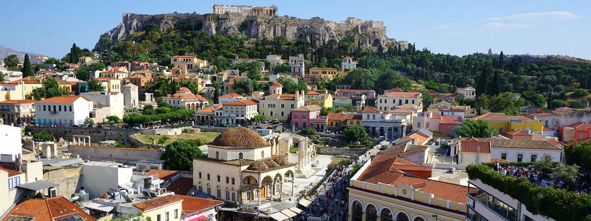 Athene vakantie stedentrip