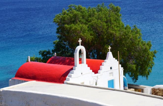 Voteballers en sterren op vakantie in Griekenland