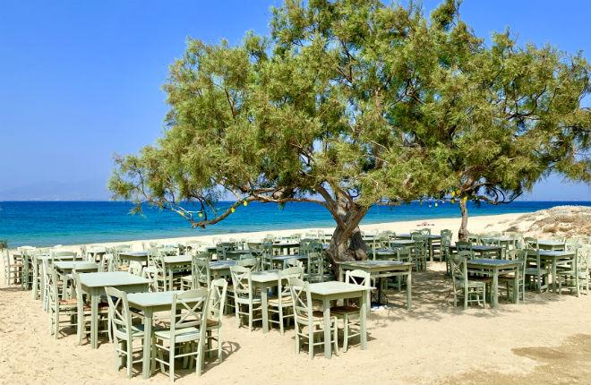 Agia Anna vakantie op Naxos
