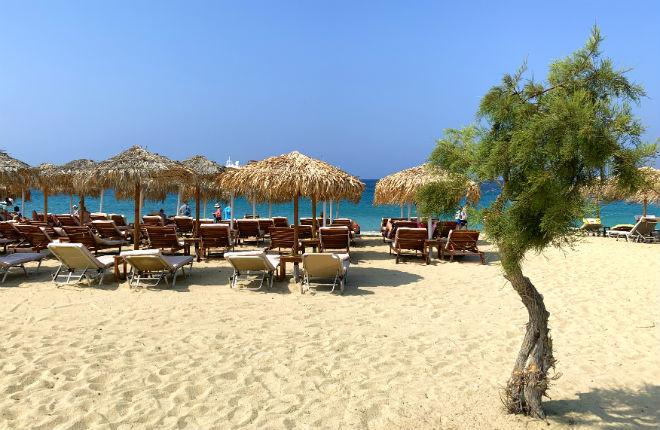 Agios Prokopios vakantie op Naxos