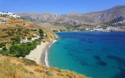 Vakantie naar Amorgos Levrossos beach