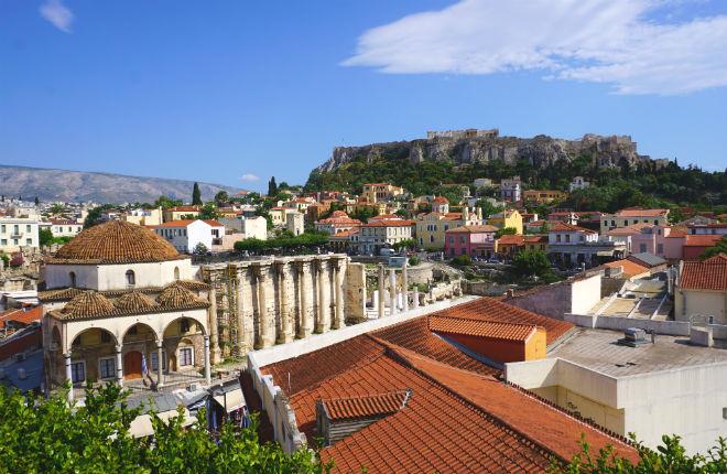 Stedetrip naar de Griekse hoofdstad Athene