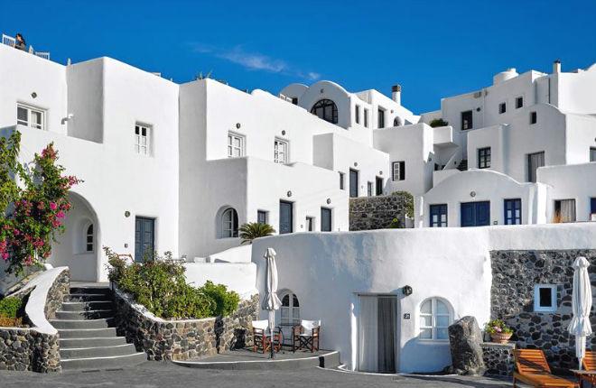 Finikia Memories Hotel op Santorini