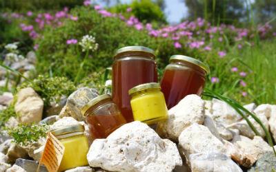 Honingproducten uit Samos van Stelios