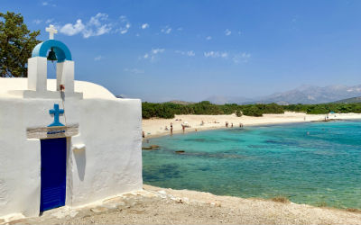 Naxos Aliko beach