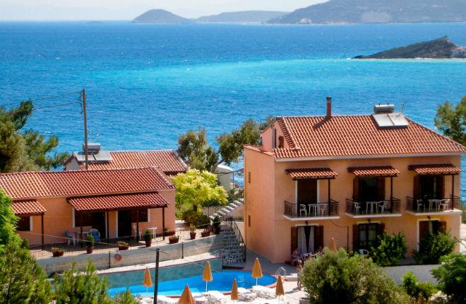 Villa Themos in Kokkari op Samos