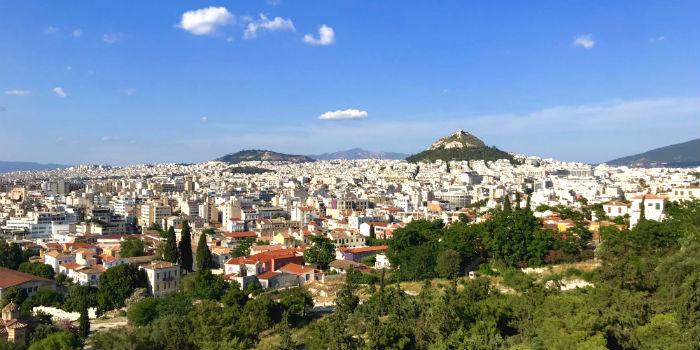 Stedentrip naar Athene in Griekenland