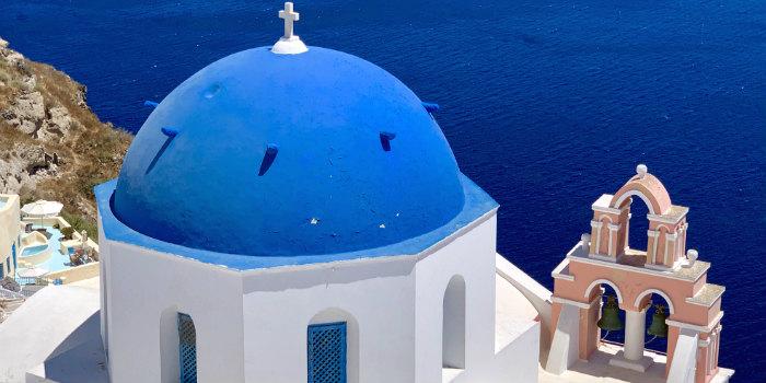 Vakantie naar Santorini