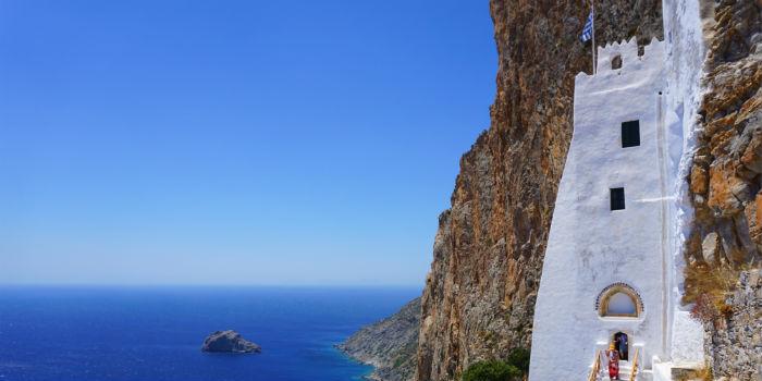 Vakantie naar Amorgos