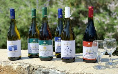 Wijn uit Amorgos