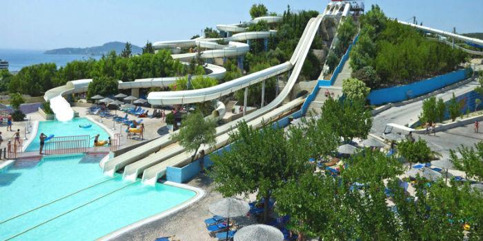 Faliraki Waterpark bij beste 25 ter wereld
