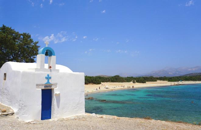 5 mooiste stranden van Naxos