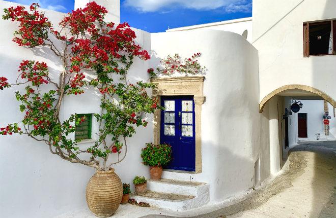 Combineer Athene en het Griekse eiland Kythira