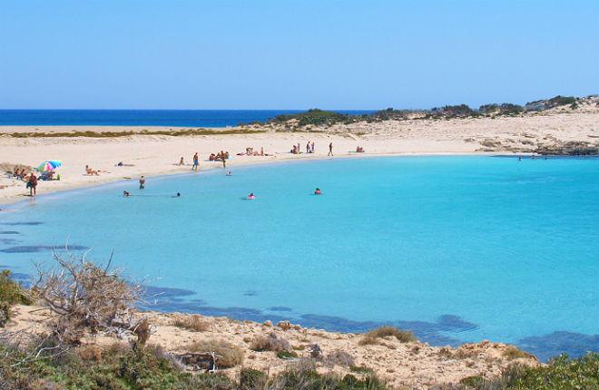 Diakoftis beach op Karpathos
