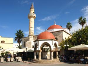 Eleftherias plein in Kos stad