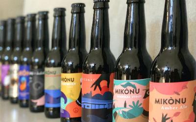 Bier van de reuzen Mikonou