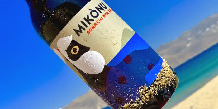 Bier van de reuzen uit Mykonos