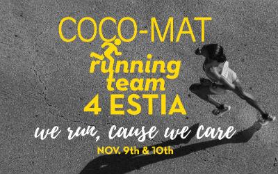 Marathon in Athene Coco-Mat running team