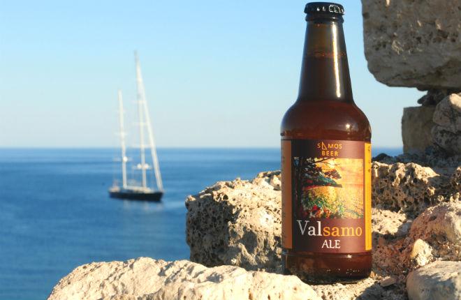 Samos beer Valsamo ale uit Samos