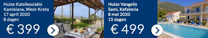 Griekenland vakantie aanbiedingen 2020 van Ross Holidays