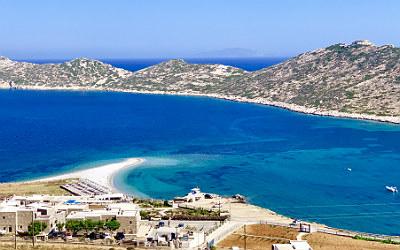 Agios Pavlos beach op Amorgos