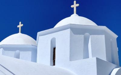 Kerk in Chora op Amorgos