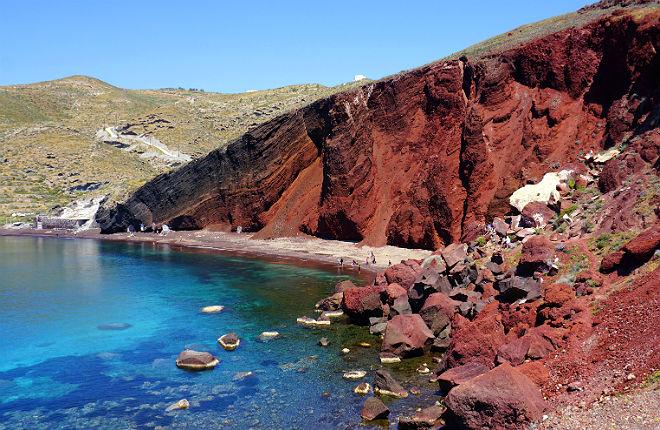 5 mooiste stranden van Santorini