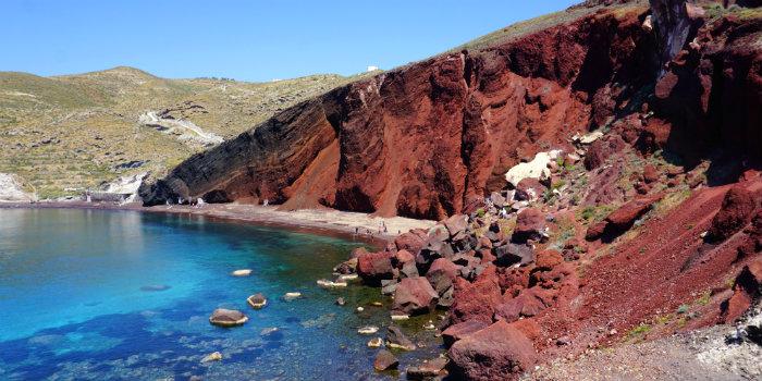 5 mooiste stranden van Santorini in Griekenland