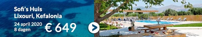 Vakantie aanbiedingen meivakantie 2020 Griekenland