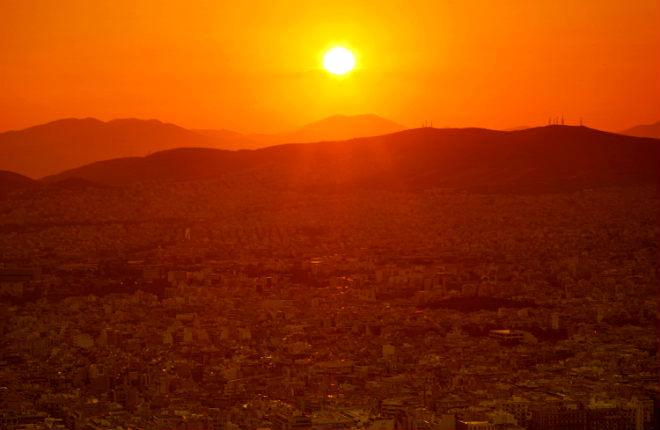 Temperatuur records Griekenland in 2019