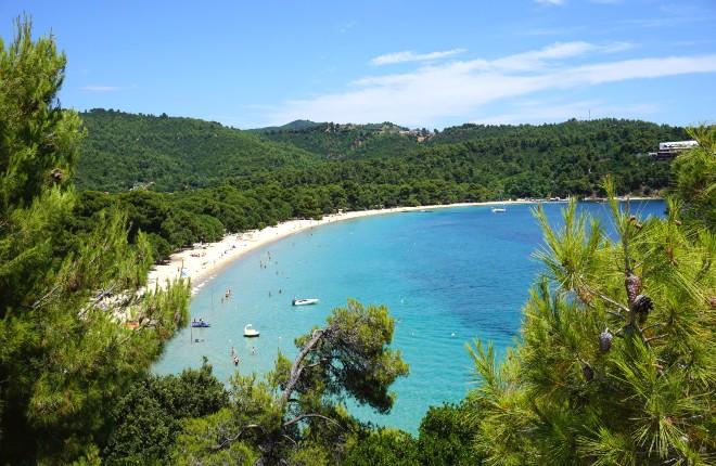 5 mooiste stranden van Skiathos