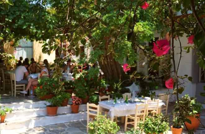 Klimaat en weer op Naxos in Griekenland