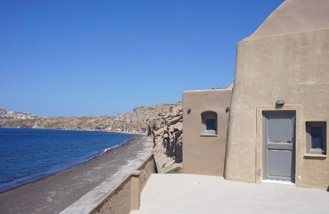 Vlichada op Santorini