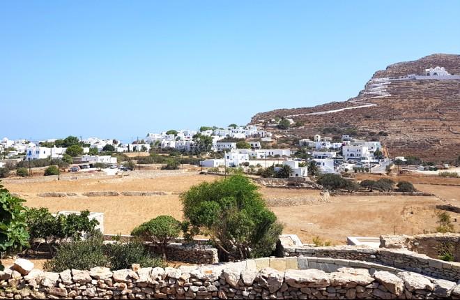 Chora Folegandros uitzicht
