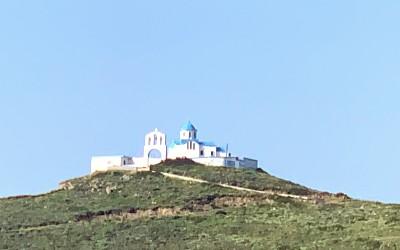 Agia Dimitris kerk op Fourni