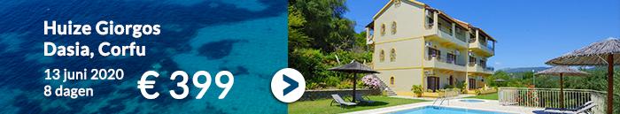 Vakantie aanbiedingen Griekenland van Ross Holidays voor de zomer 2020