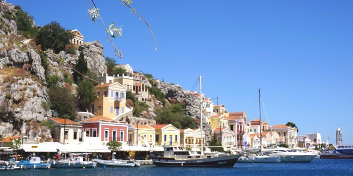 Griekenland vanuit huis