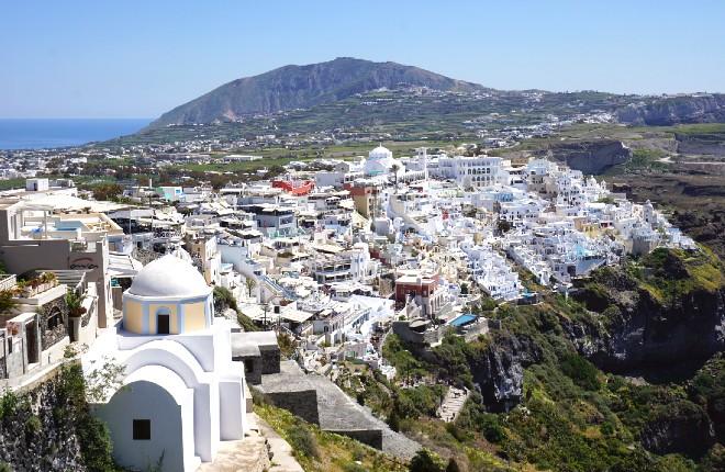 Karterados op Santorini
