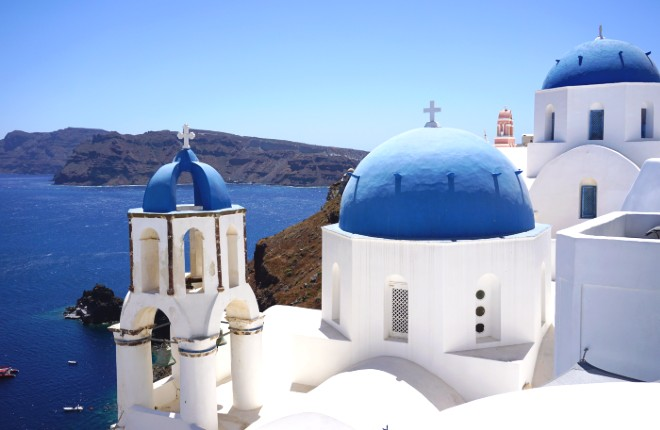 Santorini bij 7 mooiste eilanden ter wereld
